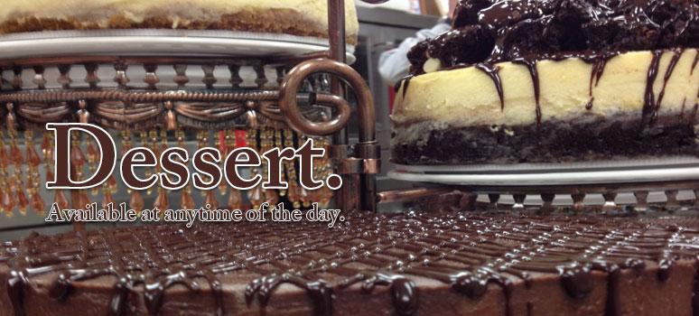 Dessert at Anthony's
