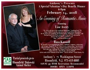 Valentine's Day 2018 – An Evening of Romantic Music