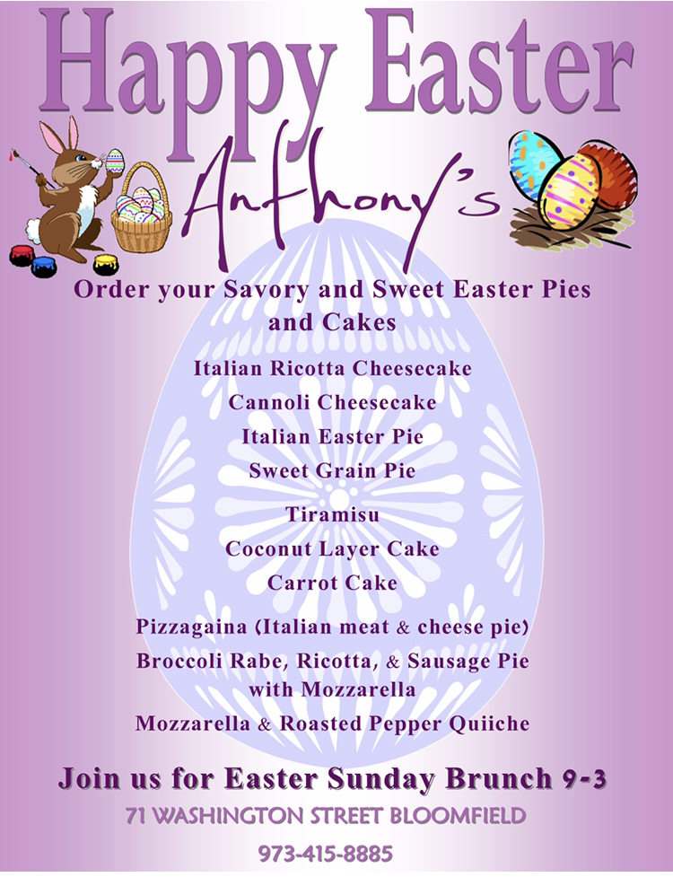 Easter 2019 at Anthony's